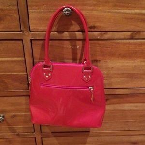 Beijo Bags - Beijo red patent leather bag
